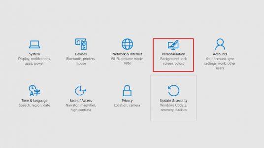 طريقة تغيير شكل الايقونة على ويندوز 10