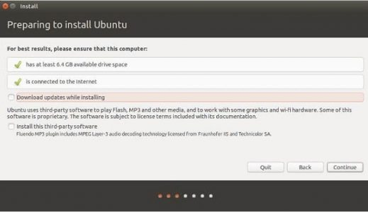 طريقه تنصيب ubuntu