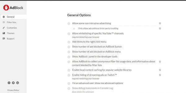 منع الاعلانات المنبثقة جوجل كروم