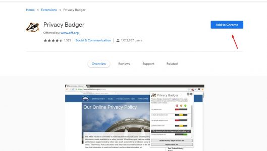 privacy badger شرح