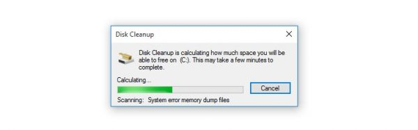 أداة Disk Cleanup