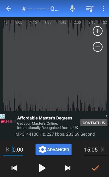 تحميل برنامج mp3 cutter القديم