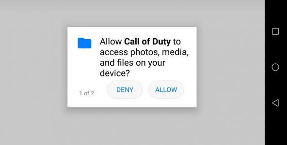 تنزيل لعبة call of duty mobile للاندرويد