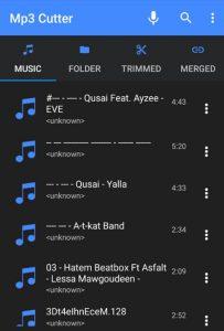 تنزيل MP3 Cutter 2020