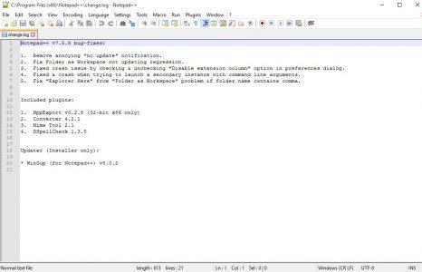 شرح برنامج notepad++
