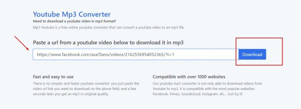 شرح موقع Youtube Mp3 Converter