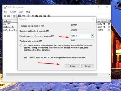 كيفية زيادة مساحة القرص c ويندوز 10 بدون برامج