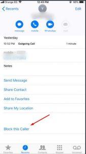 كيف احظر رقم على هواتف الاندرويد