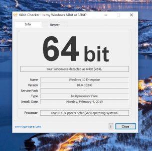 كيف اعرف جهازي 32 او 64 بت