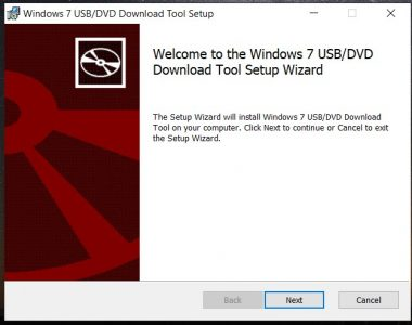 تحميل برنامج windows 7 usb dvd download tool برابط مباشر