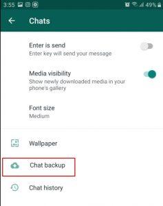 كيفية استرجاع الرسائل المحذوفة من الواتس اب في الايفون