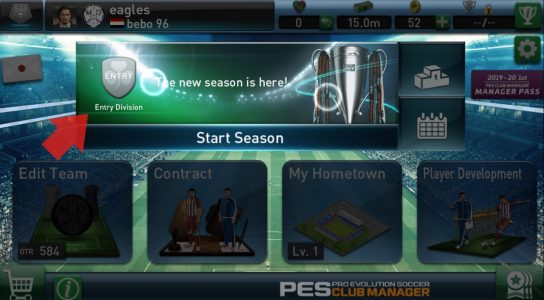 PES CLUB MANAGER 2020 للاندرويد