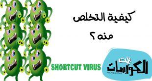 برامج إزالة فيروس الشورت كت