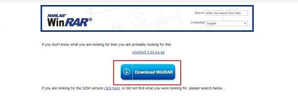 تحميل برنامج Winrar 2020