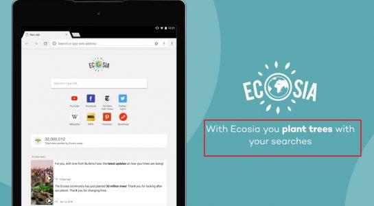 تحميل متصفح Ecosia