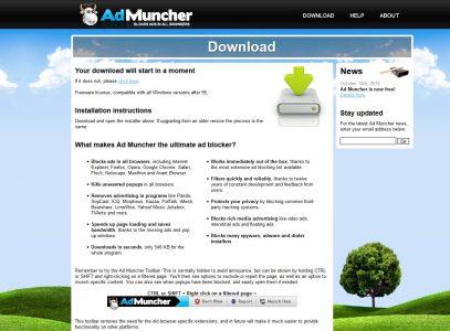 كيفية تحميل برنامج admuncher