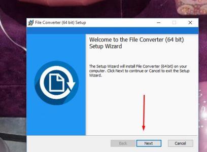 شرح كيفية تنزيل برنامج File Converter