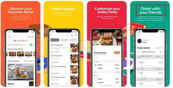 افضل تطبيق توصيل طلبات المطاعم