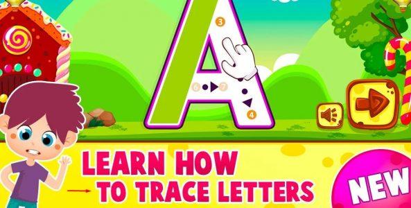 تعليم الاطفال الحروف الانجليزية بالصوت والصورة
