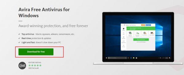 مضاد الفيروسات للكمبيوتر مجانا