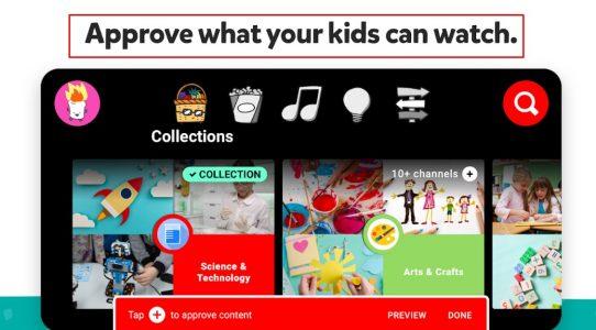 يوتيوب آمن للاطفال للايفون