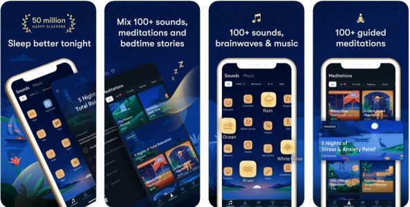 افضل تطبيقات النوم المجانية