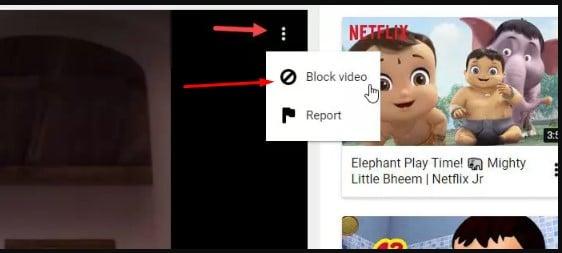 شرح كيفية حظر فيديو في Youtube Kids