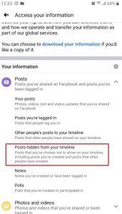 كيفية استرجاع منشور على الفيس بوك