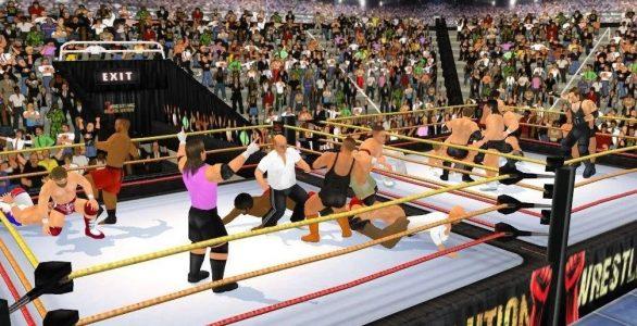 العاب مصارعة WWE للتحميل
