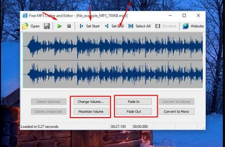 برنامج تقطيع الاغاني MP3 للكمبيوتر