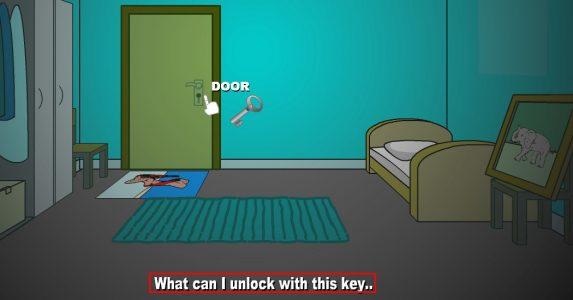 لعبة الهروب من الغرفة للاذكياء