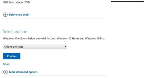 طريقة تحميل ويندوز 10 بصيغة iso من موقع مايكروسوفت الرسمي