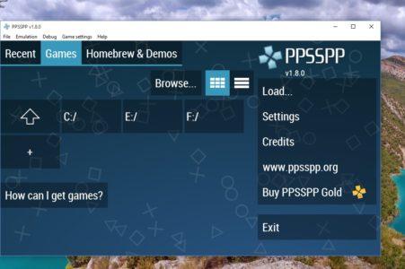 شرح طريقة تحميل ألعاب PPSSPP