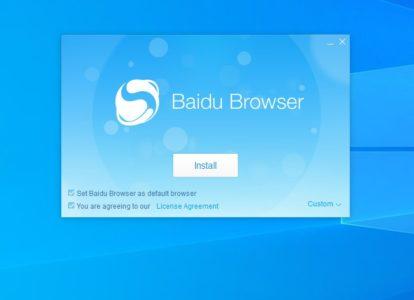 شرح كيفية استخدام و تحميل Baidu Browser