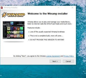 شرح كيفية تحميل برنامج Winamp القديم