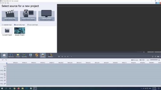 برنامج AVS Video Editor 2019