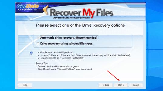 تحميل برنامج استعادة الملفات المحذوفة كامل
