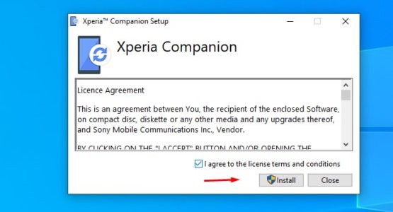 تحميل برنامج سوفت وير سوني Xperia