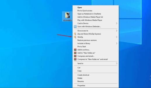 تحميل برنامج ضغط الملفات WinZip