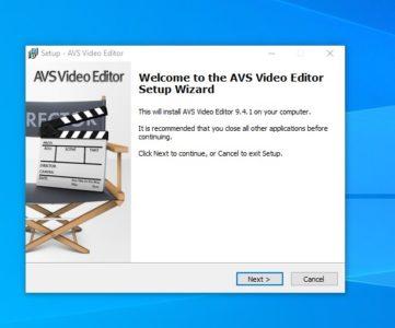 شرح برنامج AVS Video Editor