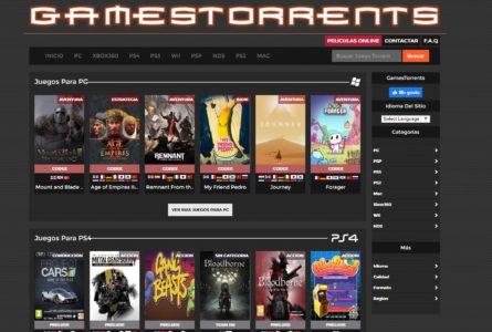 شرح كيفية استخدام موقع gamestorrents