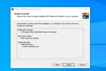 RAR Password Unlocker كامل