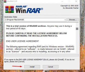 تنزيل WinRAR 64 bit