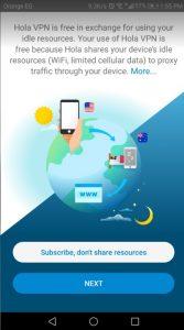 شرح تطبيق Hola Free VPN