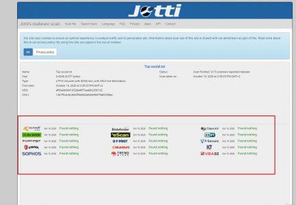 شرح موقع Jotti