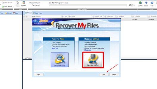 برنامج استعادة الفيديوهات المحذوفة كامل للكمبيوتر