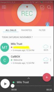 تحميل برنامج Call Box للاندرويد