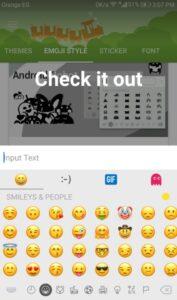 تحويل ايموجي الأندرويد الى ايفون iOS 12