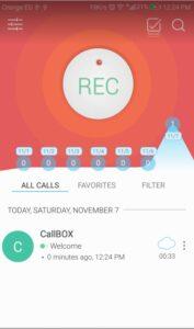 شرح برنامج تسجيل المكالمات Call Box