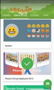 شرح برنامج Emoji Changer